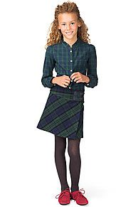 Blackwatch Wool Skirt - 532, from Tommy Hilfiger