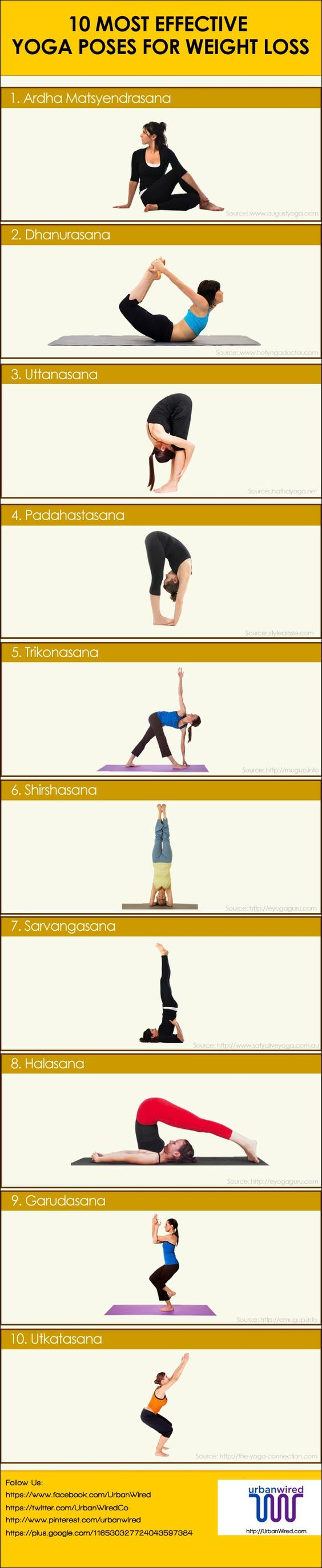 weight loss yoga steps two