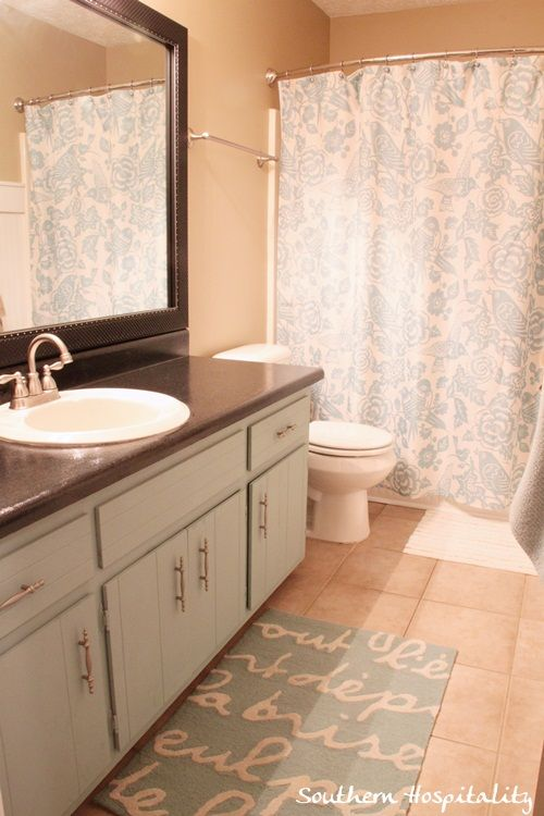 Southern Hospitality Bathroom Updates And Bathroom Cabinets On Pinterest