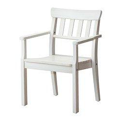 IKEA - ÄNGSÖ, Armlehnstuhl/außen, , Bis zu 4 Stühle können aufeinander gestapelt werden; so lassen sie sich einfach und Platz sparend unterstellen.Mit einem passenden Polster wirds noch bequemer und die Möbel lassen sich dem eigenen Geschmack anpassen.Damit Kiefernmöbel für draußen stabil und widerstandsfähig gegen Fäulnis sind, werden sie aus Kernholz gefertigt, dem kompakten Stamminneren.Zur Erhöhung der Haltbarkeit und damit die natürliche Holzstruktur sichtbar bleibt, wurde das…