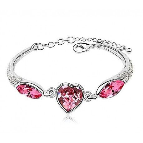 Be Mine Crystal Bracelet – FabsZeal Delicate and Classy swarovski Crystal Bracelet  All of our Bracelets are made from Genuine Swarovski elements!