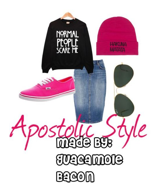 Casual, cool, modest apostolic/pentecostal fashion Made by: Guacamole Bacon