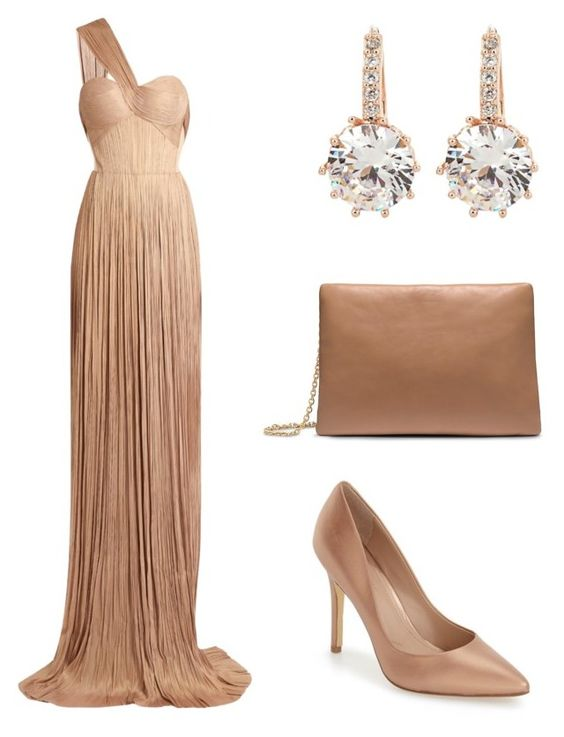 """""""Elegant and Regal"""" by coated-sparks ❤ liked on Polyvore featuring beauty, Maria Lucia Hohan, Calvin Klein, Charles by Charles David and vintage"""