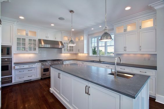 Award winning nantucket style kitchen pinterest for Nantucket style kitchen