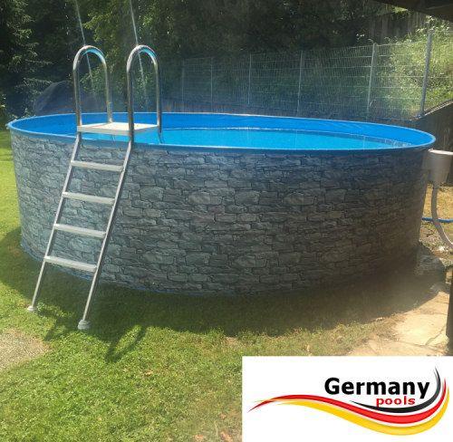 Germany Pools De Pool Hersteller Pool Ovalpool Ovaler Pool