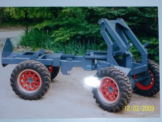 Home Built Articulating Garden Tractor : Articulated loader page mytractorforum the