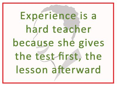Keep giving tests and learning lessons well always! #successquotes