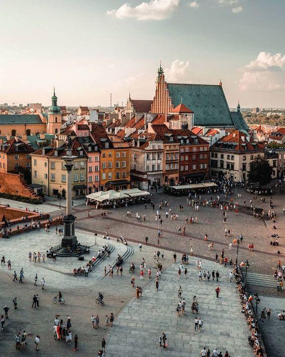 "Warsaw, Poland ~~~~~~~~~~~~~~~~~~~~~~~~~~~~~~~ • • • • #poland #polandsights #hello_rooftops…"""