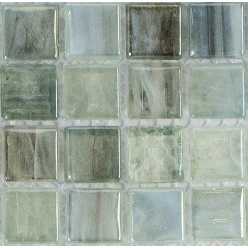 Piazza 0 5 X 0 5 Glass Mosaic Tile Mosaic Glass Glass Mosaic Tiles Mosaic Tiles