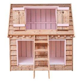 In het Vogelhuis bed kun je met maar liefst 3 kinderen slapen. Het bed heeft de vorm van een Vogelhuisje, waar je in en op kunt klauteren. Speel- en slaapplezier verzekerd!