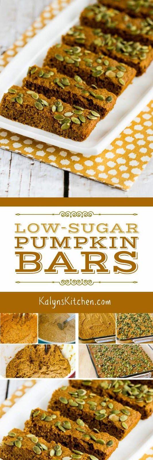 Low-Sugar Pumpkin Bars