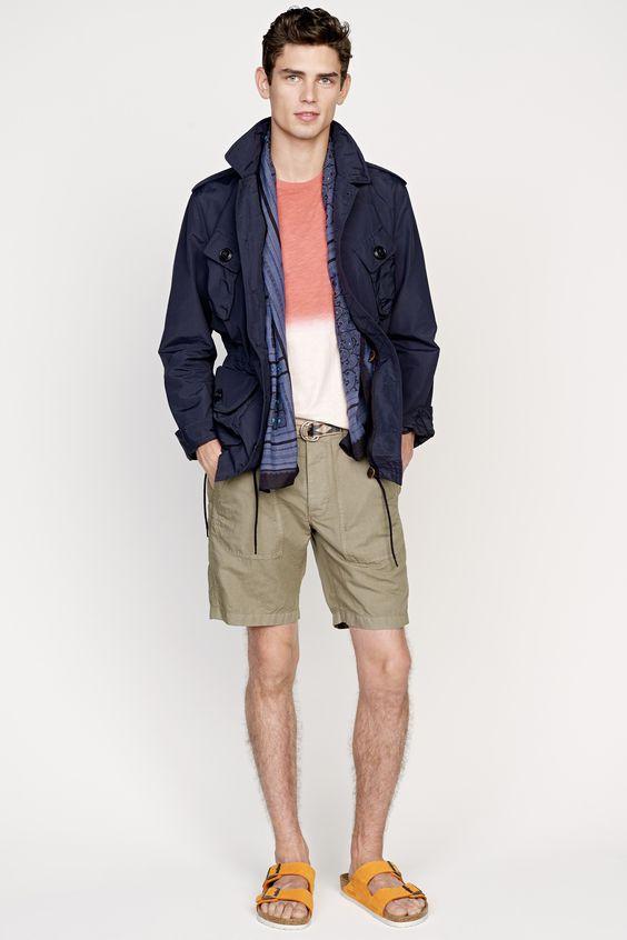 J.Crew men's spring/summer 2015 collection.
