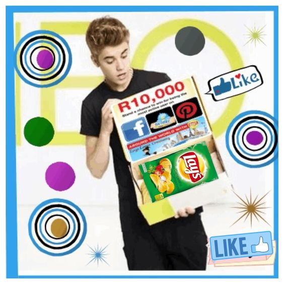 #Lays is giving away R10,000.00 to our most active fan who has the most creative and original posts and comments!