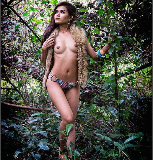 Bangkok nude model nina