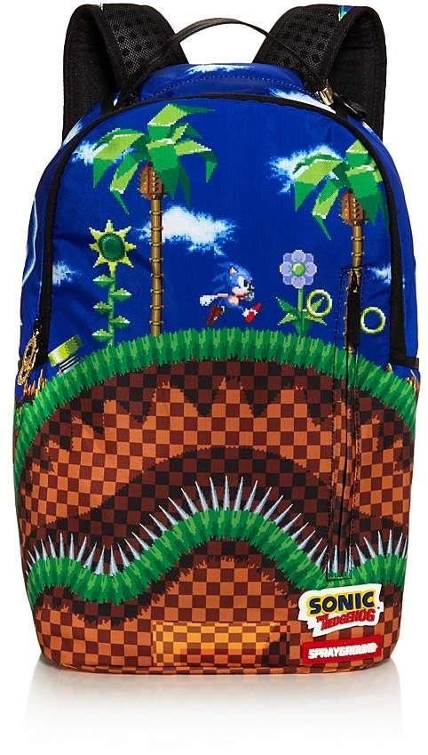 Sprayground Sonic The Hedgehog Shark Backpack Shark Backpack Backpacks Sprayground