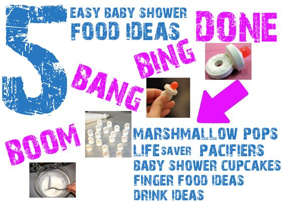 Baby Shower Favors Lifesaver Pacifiers 5 amazing baby shower food ideas that will blow your mind