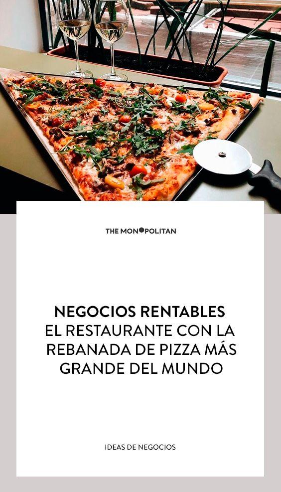 Negocios Rentables Un Negocio De Pizzas Negocios Rentables Negocios Online Rentables Restaurantes