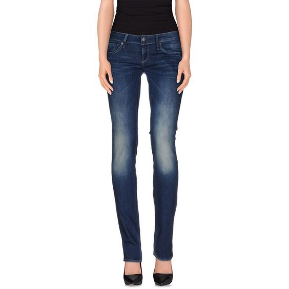G-star Raw Denim Trousers (12000 RSD) ❤ liked on Polyvore