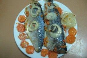 Peste cu legume la cuptor: Peste Cu, Fish, Vegetables, Baked