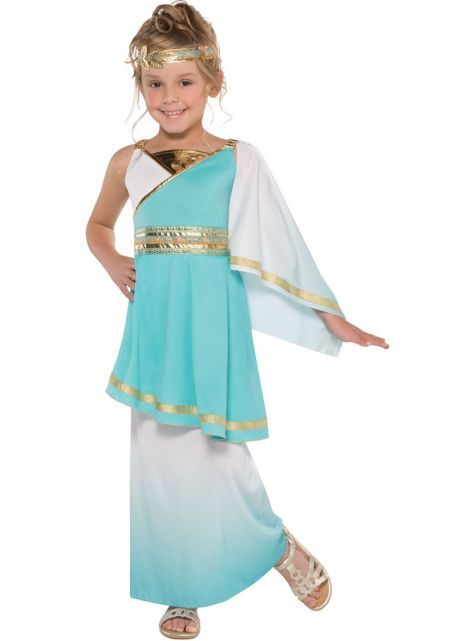 Girls Goddess Venus Costume - Party City pefect for my ...