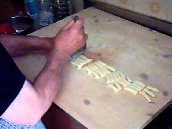 Pasta fresca fatta in casa  :Maccheroni a quattro dita di mamma Maria