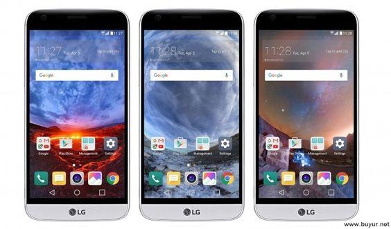 LG G5'e 360 Derece Duvar Kağıtları