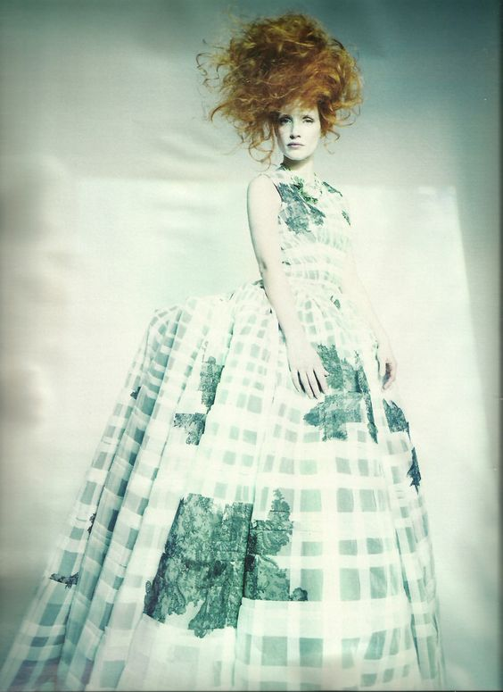 Dior - Jessica Chastain: The New Guard - W by Paolo Roversi, May 2012