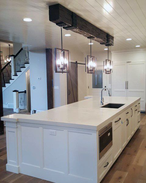 Top 60 Best Wood Ceiling Ideas Wooden Interior Designs Kitchen