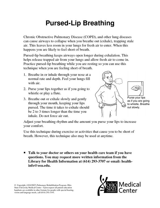 chest percussion therapy instructions
