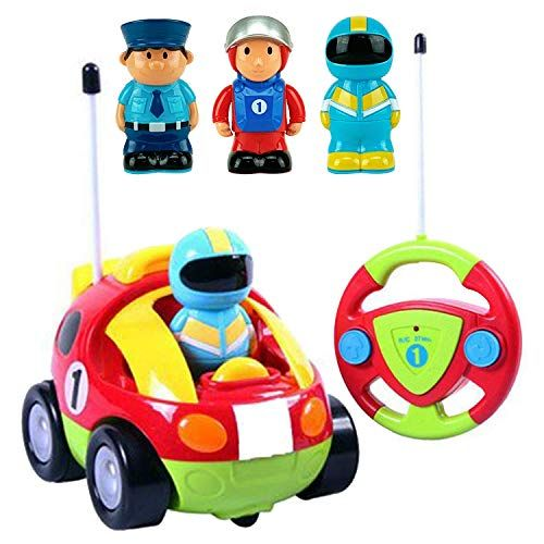 Liberty Imports Cartoon R C Race Car Radio Control Toy For Toddlers English Packaging Deals Sale Christmas Toddler Toys Toddler Car Cool Toys
