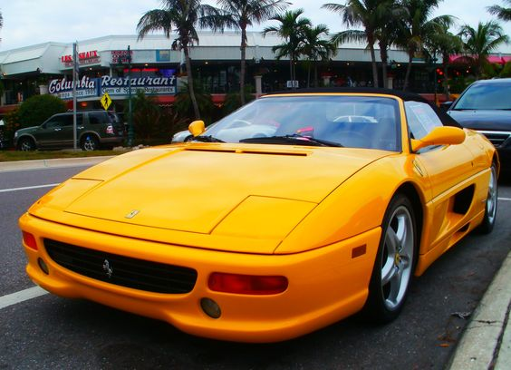 1995 Ferrari F355 Spider Convertible    Copyright © 2012 Brasspineapple Productions L.L.C. Jason Matthew Mahan