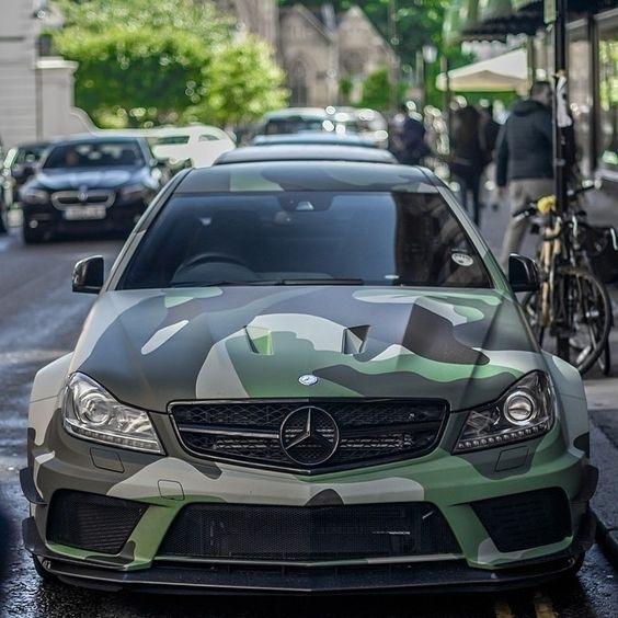 Mercedes C Amg Black Militaire