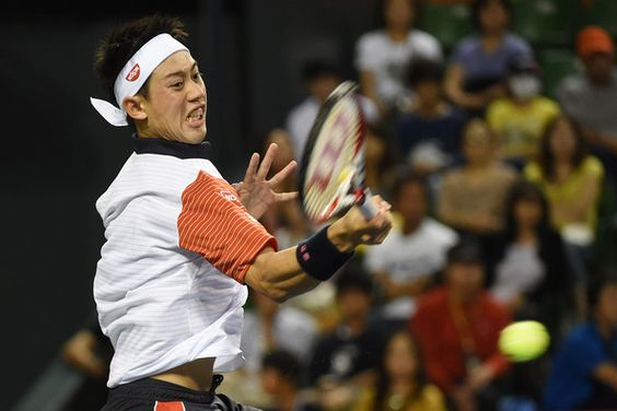 Kei Nishikori Photos - Rakuten Open: Day 3 - Zimbio