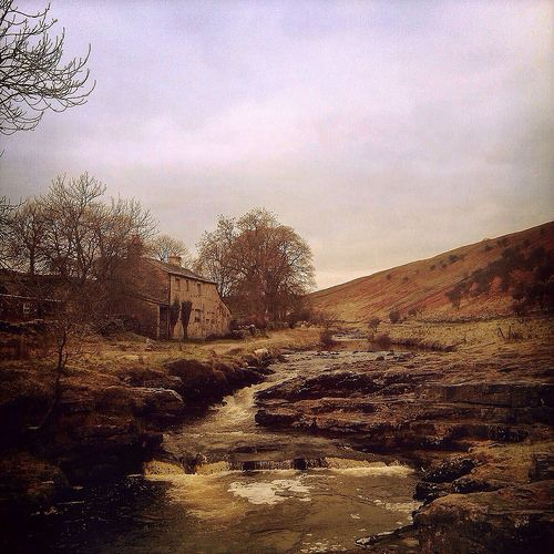 The infant river Wharfe gurgling it's way past New House, Langstrothdale, Yorkshire | Flickr - Photo Sharing!