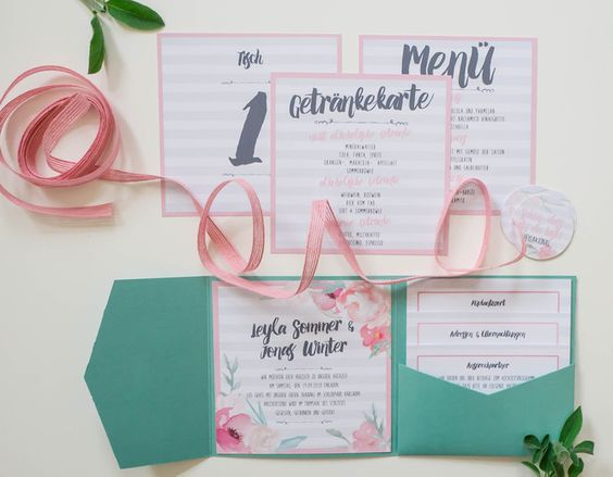 juhu papeterie hochzeitseinladung wedding invitation pocketfold pfingstrosen anemonen. Black Bedroom Furniture Sets. Home Design Ideas