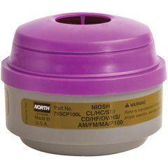 SEI601 RESPIRATOR CARTRIDGE N Series Combination Gas/Vapour/P100 Filter 2/PK