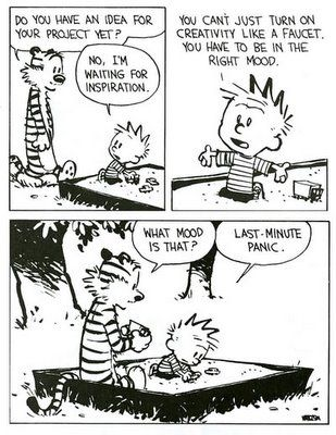 So true for creativity
