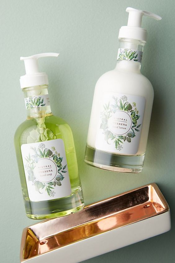 Slide View: 1: Mistral Hand Soap + Lotion Caddy