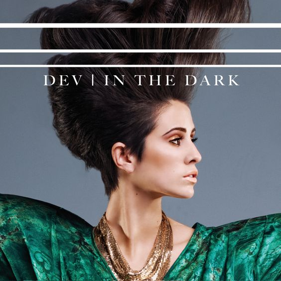 Dev – In the Dark (single cover art)