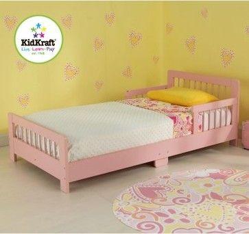 KidKraft Slatted Toddler Bed - Pink - modern - kids beds - Hayneedle
