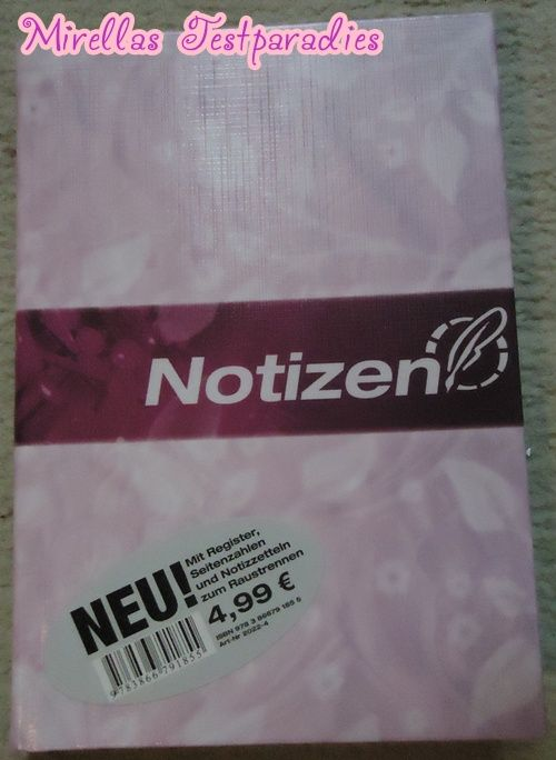 And also I got the Notizen Book from Häfft.