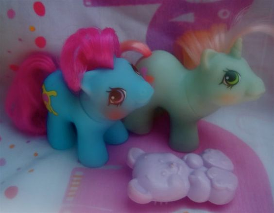 80s My Little Ponies! I totally had these!