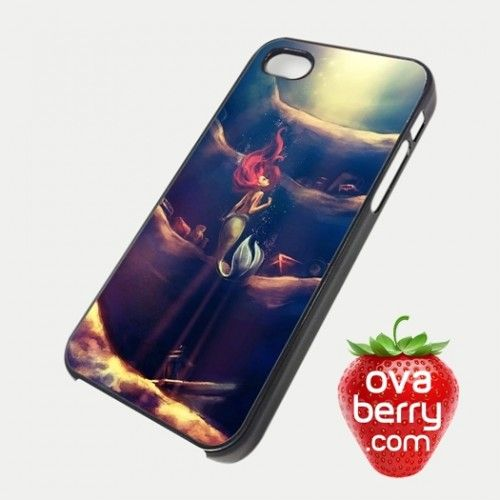 Ariel The Little Mermaid Moonlight  iPhone and Samsung Galaxy Phone Case