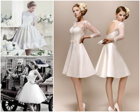vintage short wedding dresses  Marriage  Pinterest  Vintage ...