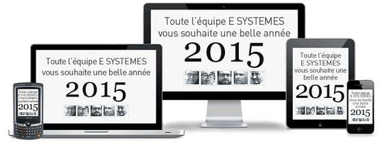 Quelque soit votre résolution… Bonne année 2015 ! Bienvenue en 2015 ! Et si vous preniez LA bonne résolution cette année ?! Toute l'équipe E SYSTEMES vous souhaite une belle et bonne année 2015