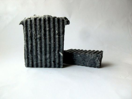 Activated Charcoal Soap Goat Milk Soap  All by MesysOrganics