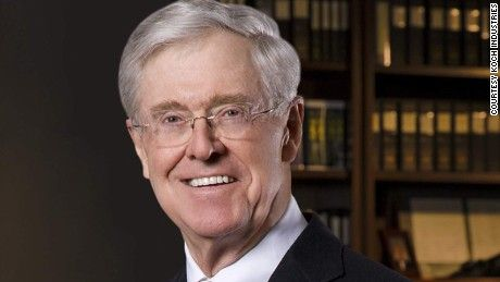 Charles Koch on speculation he would vote for Clinton: That is a blood libel