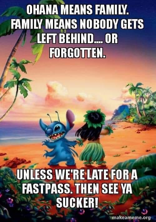 Pin By Aden Williams On Disney Best Place Ever Disney Quotes Funny Lilo And Stitch Memes Disney Jokes