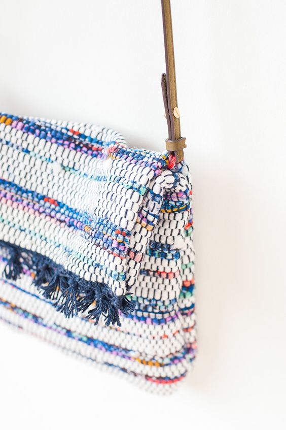 How to make crossbody bag with strap
