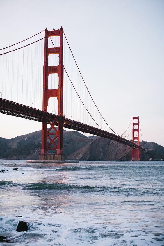 Golden Gate Bridge, SF //  Simone Anne